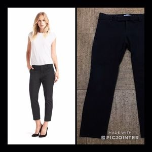 Gap Dark Gray Slim Crop Pants (Size 8)